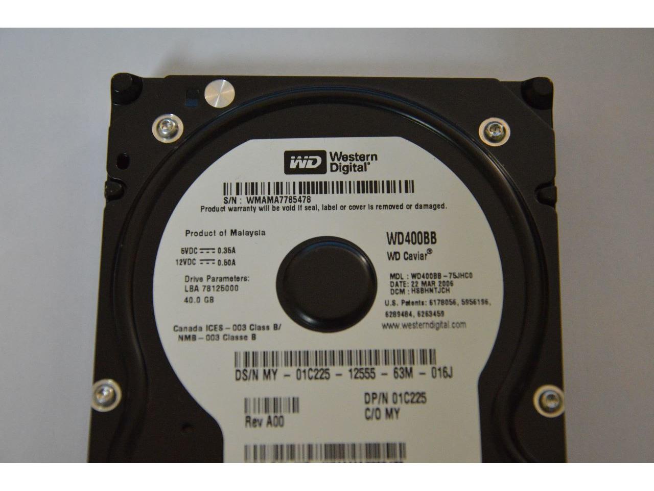Vendo disco Wester Digital IDE, 40Gb - 2/2