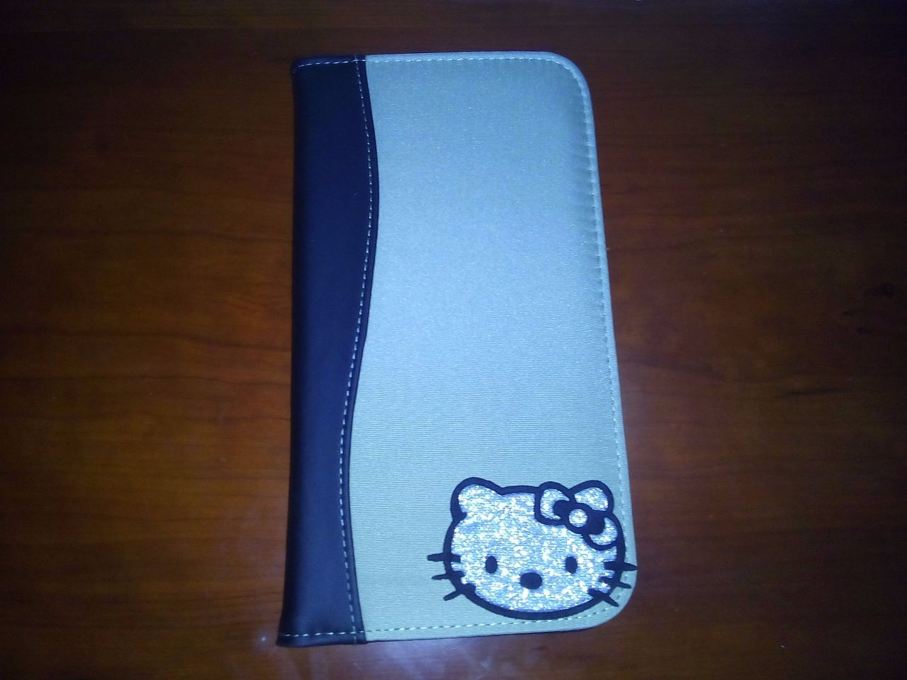 "Porta cartões ""Hello Kitty"", novo. - 1/2"