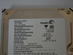 Disco Rigido Seagate Barracuda 120Gb