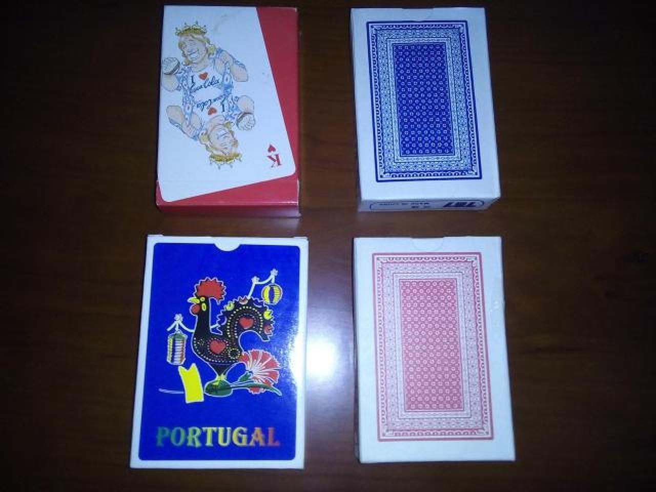 4 baralhos/jogos de cartas novos. - 2/2