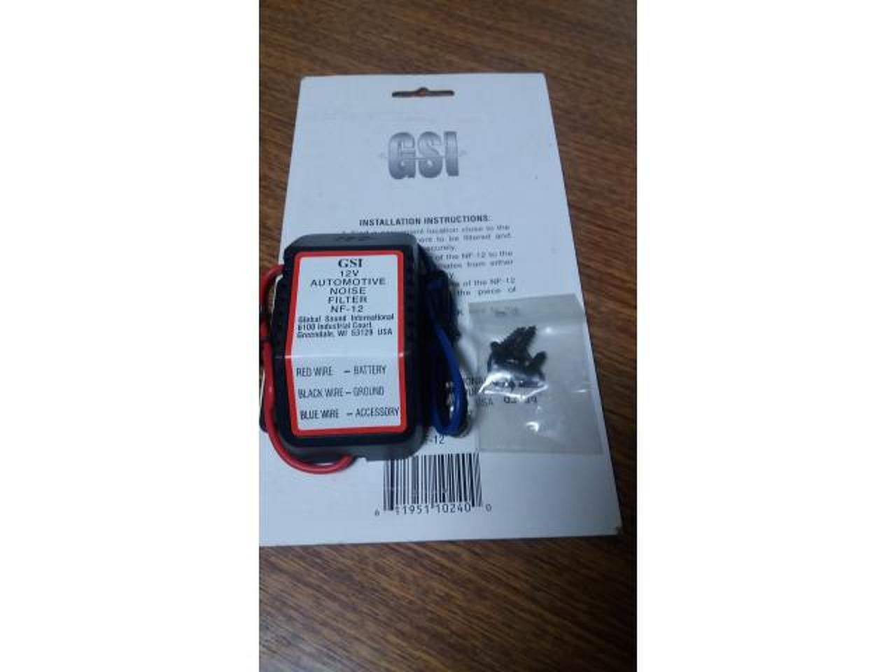 Filtro de ruido GS para linha de 12V, 168 W - 2/3