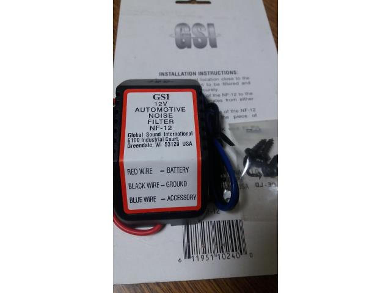 Filtro de ruido GS para linha de 12V, 168 W - 3/3