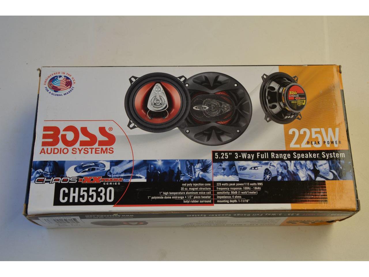 "Colunas Boss Audio CH5530, 5.25"", 225W - 3/4"