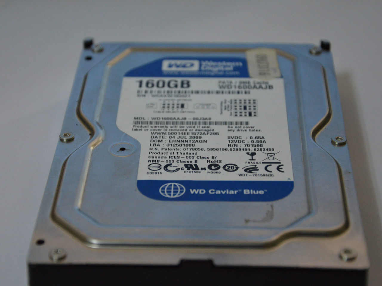 Disco Rigido Western Digital 160Gb - 2/3