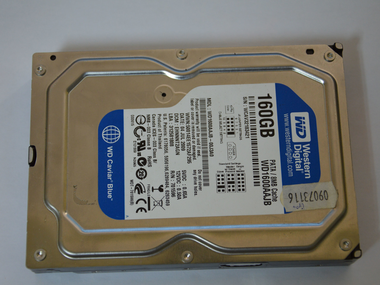 Disco Rigido Western Digital 160Gb - 3/3