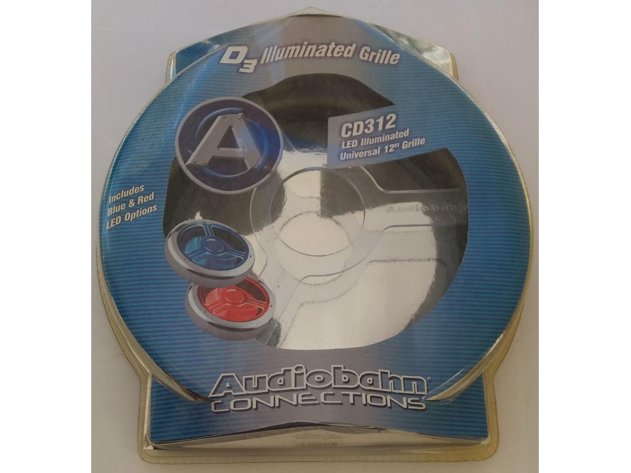 "Grelha para subwoofer 12"", Audiobahn - 1/2"