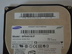 Disco Samsung IDE, 40Gb