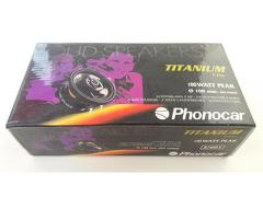 """Phonocar 2/661 - Colunas Phonocar de 4"""" (10Cm), 2 vias, 100W"""