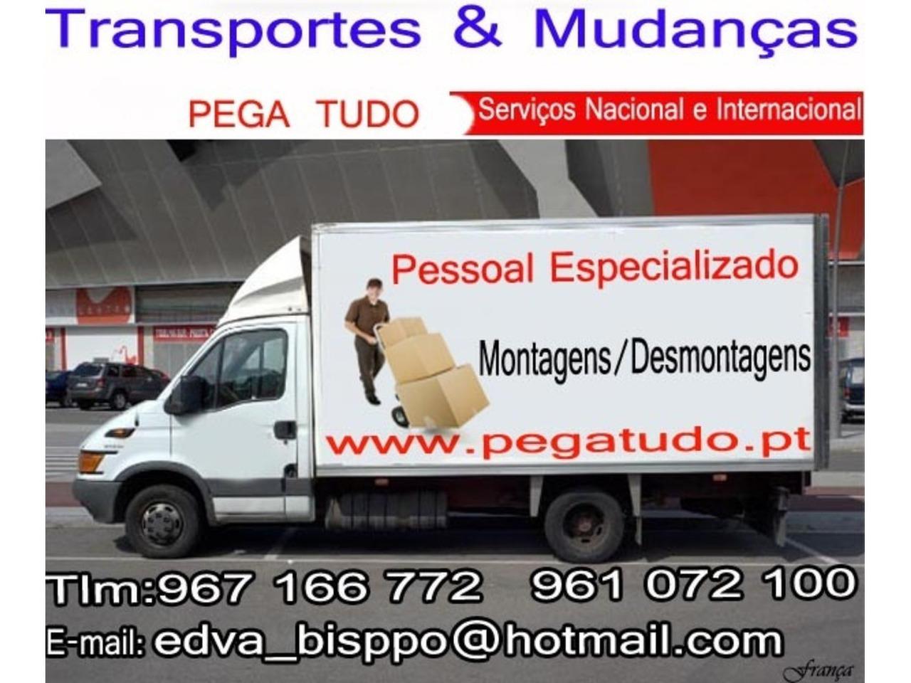 TRANSPORTES MUDANÇAS LISBOA ALGARVE - 4/5