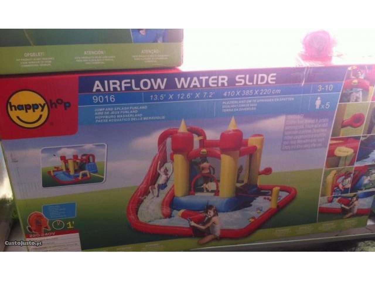 9016-Insuflável Jump & Splash Funland - Wet & Dry - 2/2