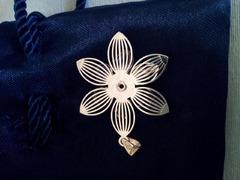 Brincos e berloque/pendente para colar/fio em prata.