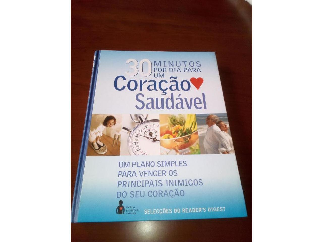 """Livro """" 30 minutos por dia para um Coração Saudável"""" - 1/3"""