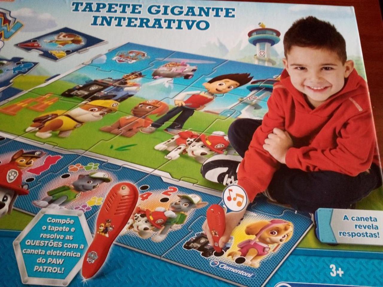 Tapete Gigante Iterativo Paw Patrol / Patrulha Pata, 3+Anos. Novo - 2/4