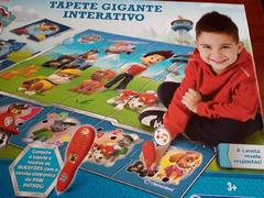 Tapete Gigante Iterativo Paw Patrol / Patrulha Pata, 3+Anos. Novo