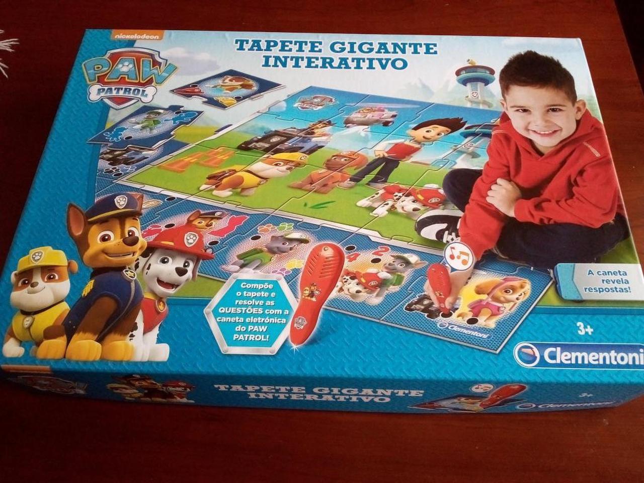 Tapete Gigante Iterativo Paw Patrol / Patrulha Pata, 3+Anos. Novo - 4/4