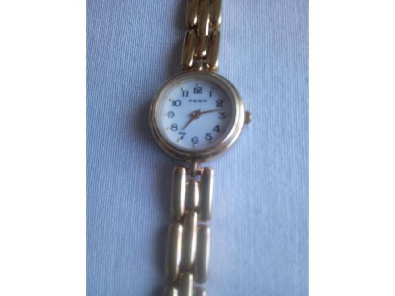 Relógio Fesa dourado, novo. - 2/4
