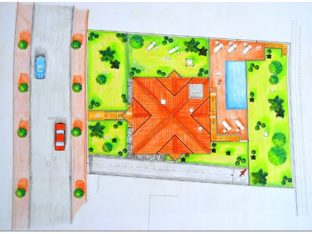 Terreno de 884m2 com Projeto para T3 LUXO - 12/12